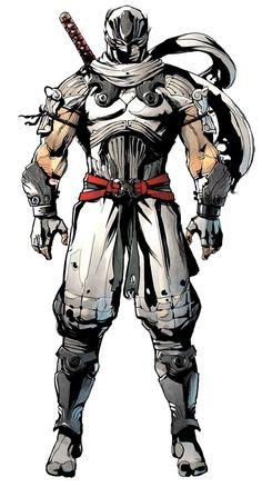 Ninja Gaiden Ryu Hayabusa (uniforme branco)