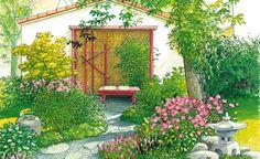 Garten-Idyll auf kleinstem Raum