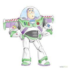 Draw Buzz Lightyear | wikiHow