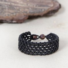 Macrame bracelet, handmade jewelry