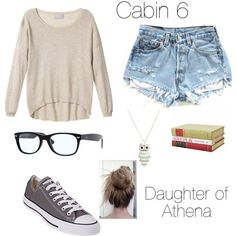 Cabin Daughter of Athena. LOVE LOVE LOVE Percy Jackson and Heroes of Olympus so much. -cheap ray ban sunglasses for gift. Cool Outfits, Summer Outfits, Casual Outfits, Fashion 101, Womens Fashion, Fashion Trends, Percy Jackson Outfits, Moderne Outfits, Fandom Fashion