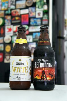 Wäls Witte pra refrescar e Wäls Hot Petroleum pra pegar fogo