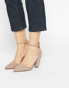 Image 1 ofASOS SPEECHLESS Pointed Heels