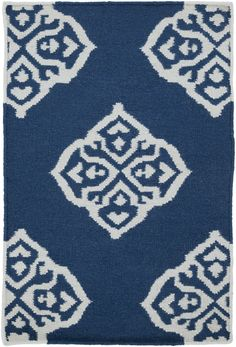Surya FT366 Frontier Blue Rectangle Area Rug