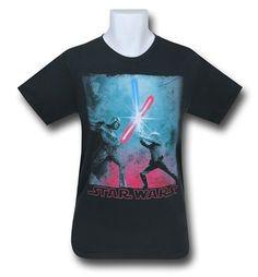 Images of Star Wars Big Duel T-Shirt