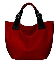 Handtassen - Leather Shopper Bag 2 LULU - Een uniek product van BAGS4JOY op DaWanda
