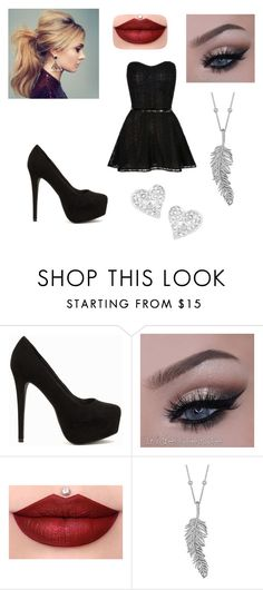 """Untitled #93"" by martinezjorge ❤ liked on Polyvore featuring beauty, Nly Shoes, Penny Preville and Vivienne Westwood"