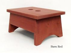 Small Step Stool Children's Rustic Step Stool Small by Wilewood