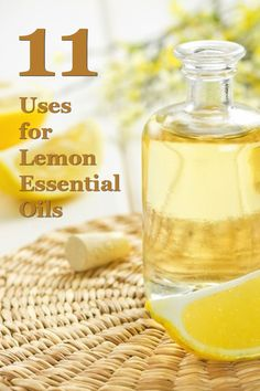 You can use lemon essential oils for everything from creating a natural detox to helping your fruits and vegetables last longer. Check out this post for 11 great uses!