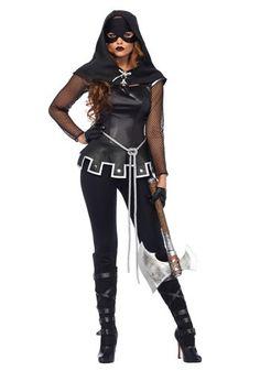 Women's Grim Executioner Costume Halloween Costume Shop, Halloween Fancy Dress, Halloween Kostüm, Spooky Costumes, Pirate Costumes, Halloween Outfits, Adult Costumes, Costumes For Women, Sassy