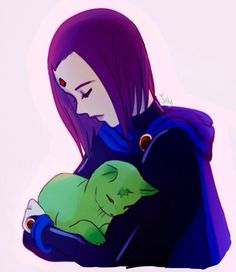 Teen Titans / Raven and Beastboy
