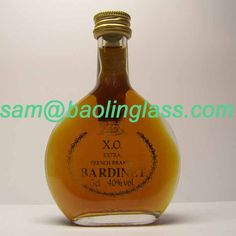 XO Paul Masson Brandy Bardinet Extra Glass Bottle