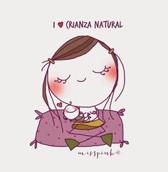 misspink: I ♥ lactancia Doodle Girl, Simple Doodles, Stick Figures, Children's Book Illustration, Mother And Child, Drawing People, Easy Drawings, Baby Love, Art For Kids