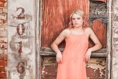 @mandiclausen - Class of 2016 - Senior Portraits - Downtown Prosper - Senior Pictures - Ideas for Girls - Cute Pose - #seniorportraits - Brick - Senior Girl - Senior Photographer - Dallas Photography - Senior Photography - Old Door - #seniorpictures - Summer - Senior Photography - Tyler R. Brown Photography