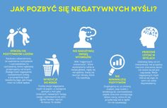 Jak pozbyć się negatywnych myśli? Zobacz sam te niezwykle cenne porady :) Anxiety Coping Skills, Magic Day, Really Good Stuff, E Mc2, Mind Power, Positive Living, Psychology Facts, Inner Peace, Self Development