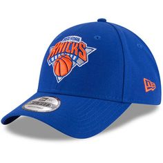 e92e4f84a New York Knicks New Era Official Team Color 9FORTY Adjustable Hat - Blue