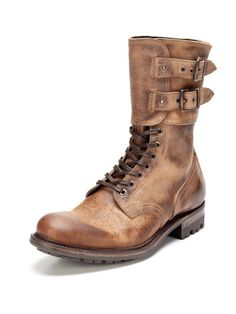Andrew MS Kudu Waxy Boots by n.d.c. made by hand on Gilt.com