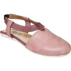 Geschlossene Sandale aus echtem Leder lederschuhe Trendschuhe pink - http://on-line-kaufen.de/german-wear/geschlossene-sandale-aus-echtem-leder-pink