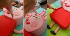 Veja como fazer um bolo da Peppa Pig que não se pareça com outra coisa