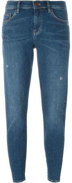 Mih Jeans slim boyfriend jeans