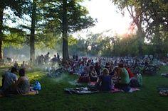 Picknicken in het Vondelpark