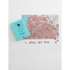 Personalized  I Love You Dad Puzzle