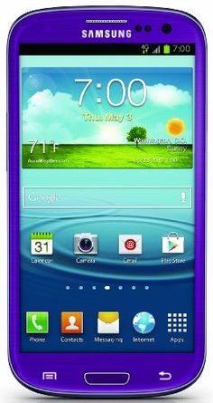 Samsung Galaxy S III 4G Android Phone, Purple 16GB (Sprint) $549.99 #CellPhones #Accessories #Wireless #Samsung