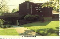 Skaneateles NY St. Mary's Church Parish Center 1960's