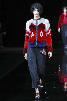 Emporio Armani Ready To Wear Fall Winter 2015 Milan