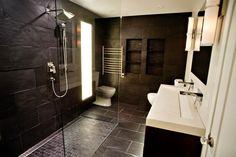 Modern Luxury Bathroom, Luxury Master Bathrooms, Modern Master Bathroom, Bathroom Design Luxury, Contemporary Bathrooms, Dream Bathrooms, Master Bedroom, Tile Bathrooms, Luxury Bedrooms