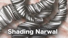 Learn how to shade Narwal, ebook and video bundle • enioken.com