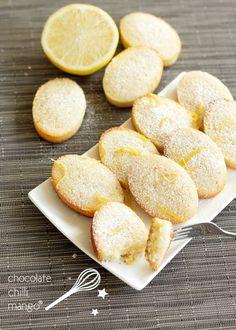 lemon financiers