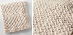 his beautiful ripples knitted baby blanket might be simple in its design, but it is stylish enough to become an heirloom gift.