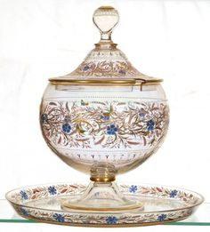 """bohemian punch bowl set 