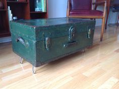 Military Trunk Coffee Table