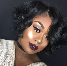 Love the hair! Dope Hairstyles, Black Girls Hairstyles, Straight Hairstyles, Curly Hair Styles, Natural Hair Styles, Wig Styles, Relaxed Hair, Hair Journey, Hair Dos