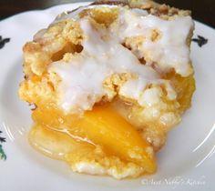 Peach Cobbler Cake// oh em gee!!