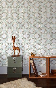 Aimee Wilder - Ikat Pixel Wallpaper ikatpixelwp at 2Modern
