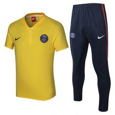 f2eb3c93388 Paris Saint-Germain Football Club Club de football PSG Nike Polo Shirt and  Pant Two Pieces Sets Casual TOPS TRACKSUIT Sweatshirt SOCCER FUSSBALL  Calcio ...