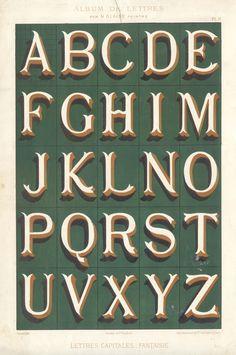 Album de Lettres #typography #type #alphabet