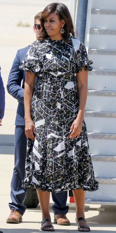Michelle Obama's Best Looks Ever - 2016 - Preen by Thornton Bregazzi from InStyle.com