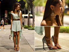 Sm Accessories Earrings, Virgos Lounge Dress, Chanel Bag, Miu Miu Heels (June 2012)
