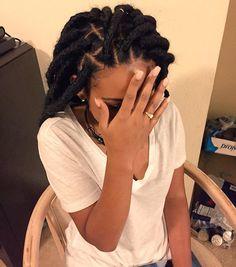 Faux locs, faux dreads, Marley hair