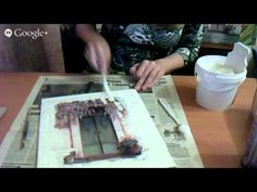 Decoupage Tutorial, Polymer Clay Crafts, Acrylic Art, Craft Videos, Master Class, Painting On Wood, Diy And Crafts, Mixed Media, Projects To Try
