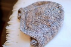 Adorable baby hat and in madelinetosh too!  #knit #knitted #yarn #handmade #craft #ravelry