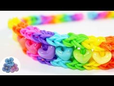 How to Make Rainbow Headbands without Loom Tutorial Rainbow Loom instructions Gifts Mathie - YouTube