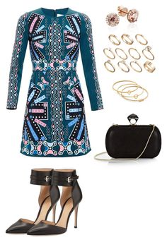 """757"" by julialeskiv ❤ liked on Polyvore featuring Peter Pilotto, Gianvito Rossi, DVF, Madewell and ASOS"