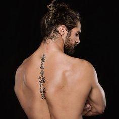 I love Seth Rollins' back tattoos!