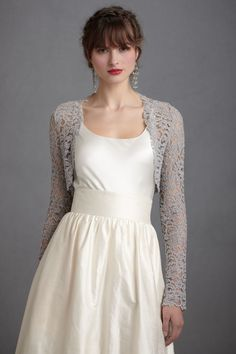 shrugs for dresses | cover ups, brides, dress, dresses, accessories, cover-ups, lace ...