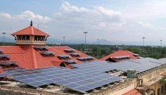 Hindistan, tamamen güneş enerjisiyle çalışan ilk havaalanını hayata geçiriyor Hindistan tamamen güneş enerjisiyle çalışan ilk havaalanını hayata geçireceğini duyurdu. Cochin Uluslararası Havaalanı'nın enerji sistemi, 46 binden fazla güneş paneliyle yenilenecek. Güneş panellerine dönüşümden itibaren, havaalanının 25 yıl içinde atmosfere 300 bin ton karbondioksit yayılmasını önleyeceği belirtildi. Söz konusu miktar, 3 milyon ağacın dikilmesine eşit geliyor. #enerjiverimlisanayi #enerji